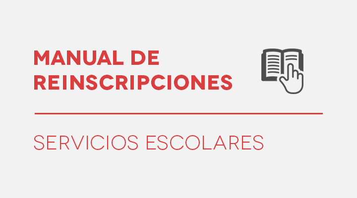MANUAL DE REINSCRIPCIONES