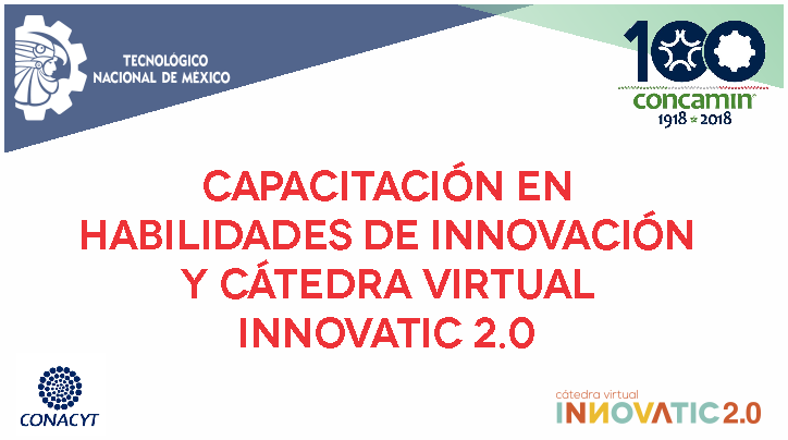 CONVOCATORIA INNOVATIC 2.0